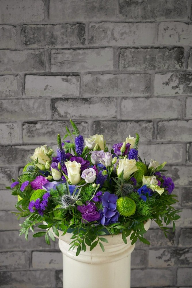 Purple & Blue Posy