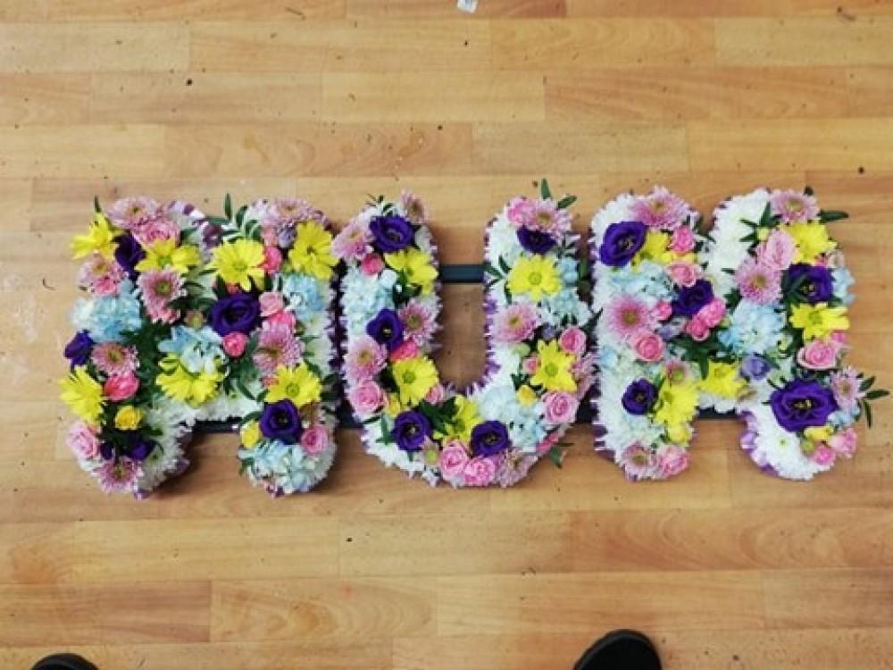 Mixed Colour Mum Tribute