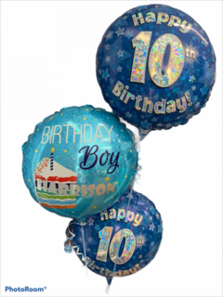 Personalised Foil Helium Balloon
